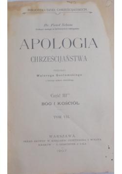 Apologia chrześcijaństwa. Tom VI, część II, 1907 r.