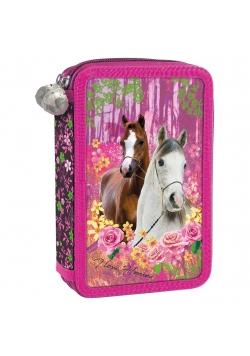 Piórnik trzykomorowy Konie 15 DERFORM