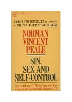 Sin sex and self-control