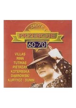 Złote przeboje 60-70, płyta CD