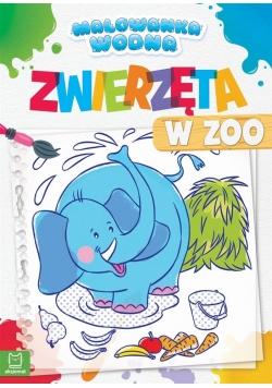 Malowanka wodna. Zwierzęta w zoo