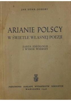 Arianie polscy w świetle własnej poezji, 1948 r.