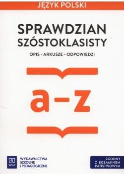 Sprawdzian szóstoklasisty Język polski WSiP