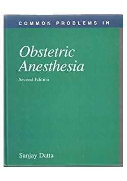 Common problems in Obstetric Anesthesia