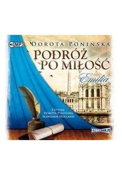 Podróż po miłość Emilia audiobook