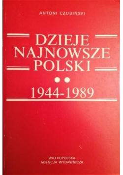 Dzieje najnowsze Polski 1944-1989