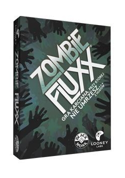 Zombie Fluxx - gra karciana BLACK MONK