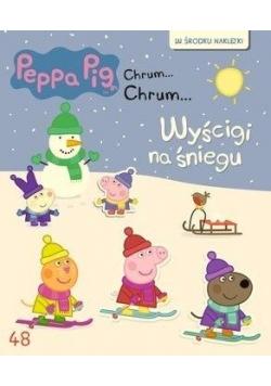 Świnka Peppa Chrum Chrum 48 Wyścigi na śniegu