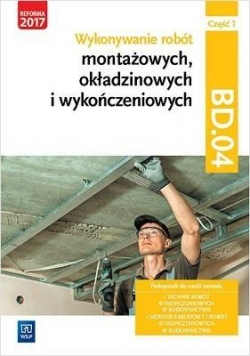 Wykonywanie robót montażowych Kw. BD.04 cz.1 WSiP