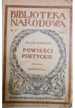 Powieści poetyckie, [1925] r