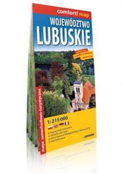 Comfort!map Województwo lubuskie 1:215 000 mapa