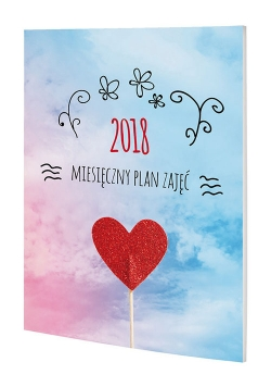 Kalendarz 2018 MPZ Miesięczny Plan Zajęć