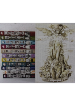 Death Note ,Tom 1-12