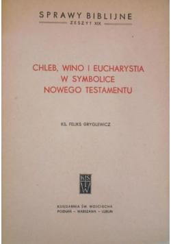 Chleb,wino i eucharystia