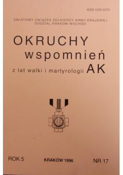 Okruchy wspomnień z lat walki i martyrologii AK