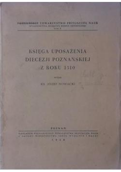 Księga uposażenia diecezji poznańskiej z roku 1510, 1950 r.