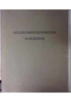 Goldschmiedearbeiten schlesies 1911 r .
