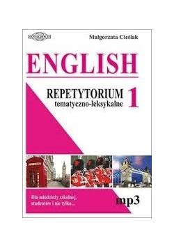 English repetytorium tematyczno leksykalne 1 + CD