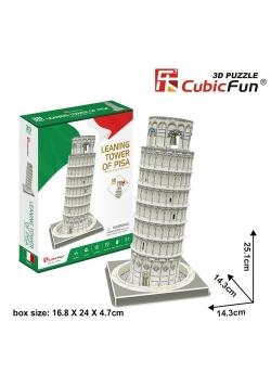 Puzzle 3D Krzywa Wieża w Pizie 27 części
