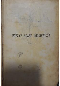 Poezye Adama Mickiewicza, tom 4, 1910 r.