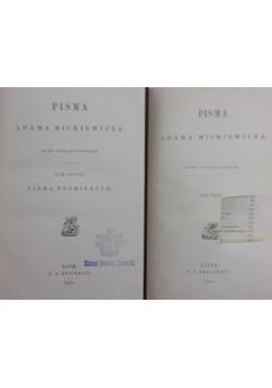 Pisma Adama Mickiewicza, tom V-VI, 1877r.