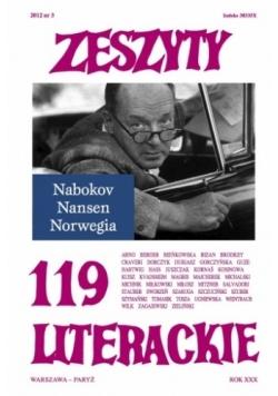 Zeszyty Literackie nr 119 (3/2012)
