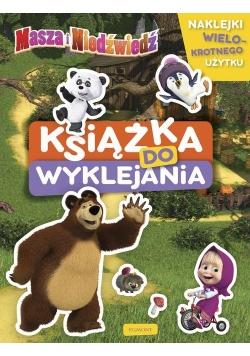Masza i Niedźwiedź Książka do wyklejania