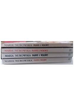 Panny i wdowy, zestaw 4 książek