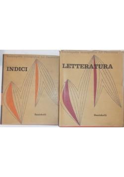 Enciclopedia monografica Indici/Letteratura