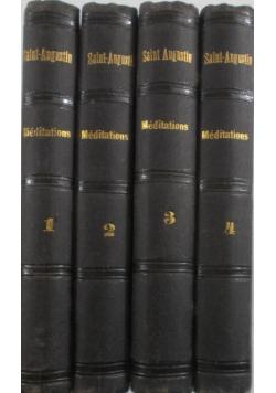 Meditations tom 1 - 4., 1882 r.