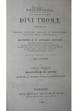 Divi Thomae ,1854r.