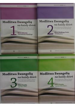 Modlitwa Ewangelią na każdy dzień, tomy 1-4