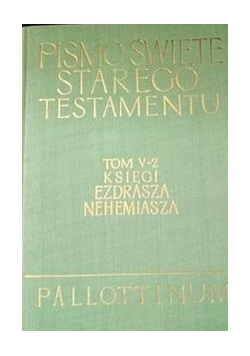 Pismo Święte Starego Testamentu Tom V-2