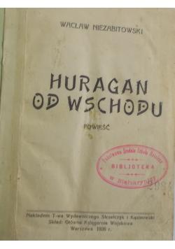 Huragan od wschodu, 1928 r.