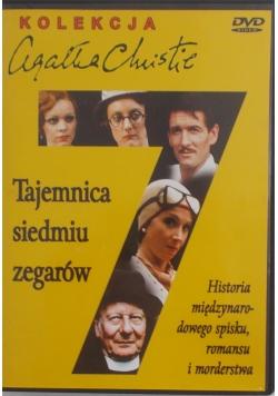 Tajemnica siedmiu zegarów- Płyta DVD