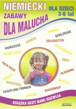 Niemiecki dla dzieci z.03 3-6 lat Zabawy..