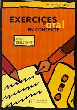 Exercices d'oral en contexte - debutant