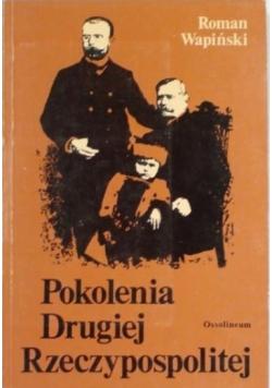 Pokolenia Drugiej Rzeczypospolitej