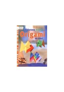 Kolorowa księga origami dla dzieci