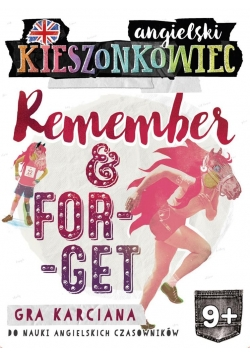 Kieszonkowiec angielski. Remember Forget (9+)