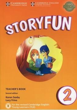 Storyfun for Starters 2 Teacher's Book