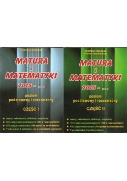 Matura z matematyki, poziom podstawowy i rozszerzony cz.1/2