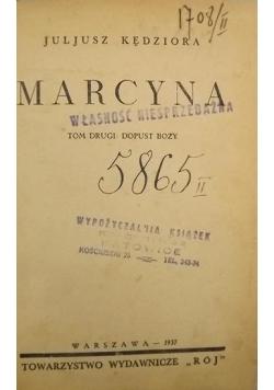 Marcyna, 1937 r.