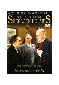Wielcy detektywi Sherlock Holmes, płyta DVD