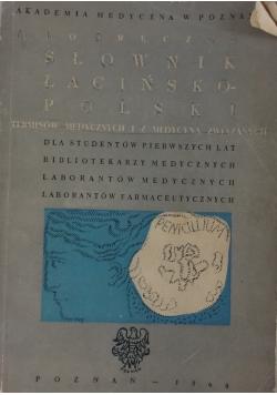 Podręczny słownik łacińsko - polski