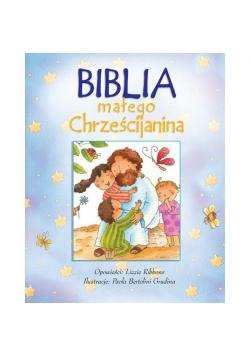 Biblia małego chrześcijanina niebieska w.2016