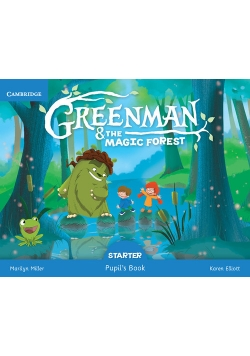 Greenman and the Magic Forest Starter Pupil's Book with Stickers and Pop-outs