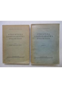 Tennenbaum  - Struktura gospodarstwa Polskiego. Tom I-II, 1932 r.