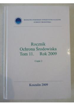 Rocznik. Ochrona środowiska. Tom 11, Rok 2009, Część 2