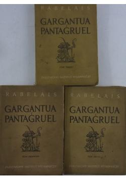 Gargantua i Pantagruel, Tom I-III, 1949 r.